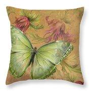 Butterfly Inspirations-a Throw Pillow