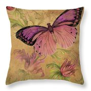 Butterfly Inspirations-d Throw Pillow