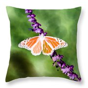 Butterfly - Monarch - Photopower 319 Throw Pillow