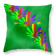 Butterfly Path Throw Pillow