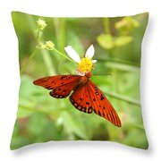 Butterfly Series 4 Of 5 Throw Pillow