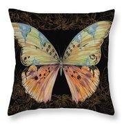 Butterfly Treasure-sofia Throw Pillow
