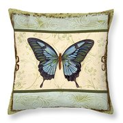 Butterfly Trio-3 Throw Pillow