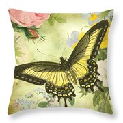 Butterfly Visions-d Throw Pillow