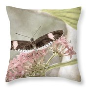 Butterfly Whisper Throw Pillow