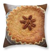 Buttermilk Pecan Pie Throw Pillow