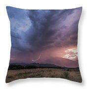 Buttermilks Lightning Strike Throw Pillow