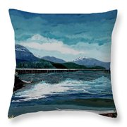 Buttle Lake Throw Pillow