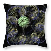 Button Head Throw Pillow