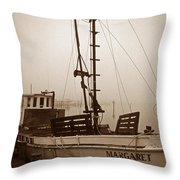 Buy Boat Margaret Throw Pillow
