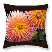 Buy Me Flowers Throw Pillow