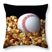 Buy Me Some Cracker Jack 1 Throw Pillow by Andee Design
