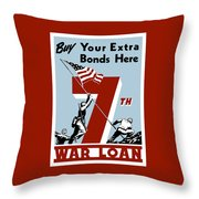 Buy Your Extra Bonds Here Throw Pillow