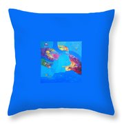 buyer alejendra USA Throw Pillow
