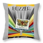Buzzer Throw Pillow