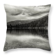 Bw Bear Lake Throw Pillow