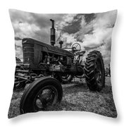 Bwcday4 Tractors Throw Pillow
