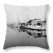 By Chance Throw Pillow by Heidi Smith