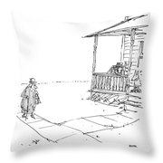 By Jupiter, An Angel! Or, If Not, An Earthly Throw Pillow