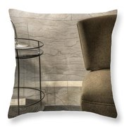 By Lamplight Throw Pillow by Margie Hurwich
