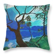 By Still Waters Throw Pillow