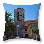 By The Church - Veroli Throw Pillow