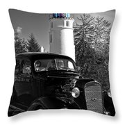 By The Light Throw Pillow
