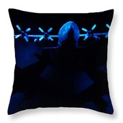 By The Light Of The Twin Moons Throw Pillow