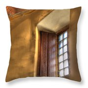 By The Light Of The Window Throw Pillow