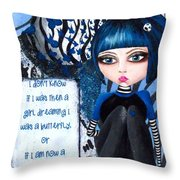 By The Moonlight Throw Pillow