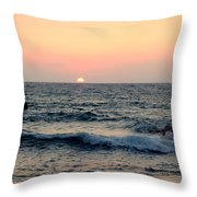 Come Down To The Sea To See The Wonder  Throw Pillow