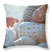 By The Seashore Throw Pillow