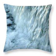 By The Weir Dam Throw Pillow