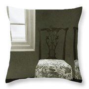 By The Window Throw Pillow by Margie Hurwich