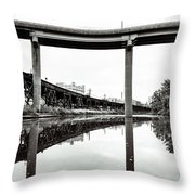 By Train Boat Or Automobile Throw Pillow