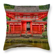 Bydo-in Temple 2 Throw Pillow
