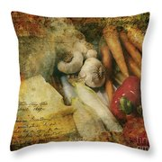 Bygone Moments Throw Pillow
