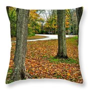 Bystanders Throw Pillow