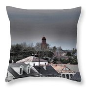Bywater Rooftops Throw Pillow