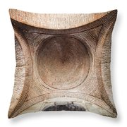 Byzantine Medieval Dome Ceiling Throw Pillow