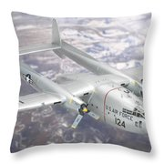 C-119 Flying Boxcar Throw Pillow