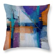Drilling Boom Throw Pillow