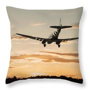 C-47 Finals Throw Pillow