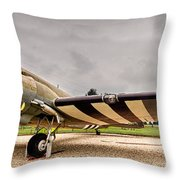 C-47 Snafu Special Throw Pillow