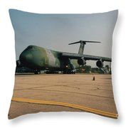 C-5 On Taxi Throw Pillow