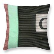 C  Throw Pillow