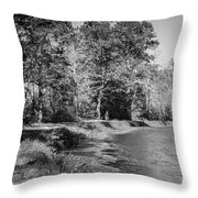 Chesapeake And Ohio Canal And Towpath Throw Pillow