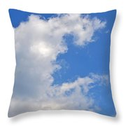 C Throw Pillow