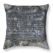 Ca-339 New Almaden Quicksilver Mine Throw Pillow