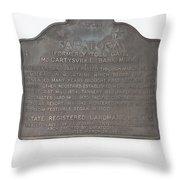 Ca-435 Saratoga Throw Pillow